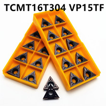 Tungsten Carbide TCMT16T304 MA VP15TF Carbide Blade Turning Tool Internal Turning CNC Blade Lathe Tool tungsten carbide ccmt09t308 vp15tf internal turning tool carbide insert cnc lathe tool