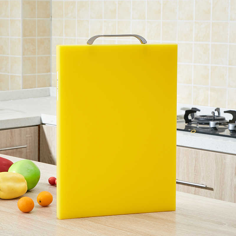 1Pcs PE Plastic Chopping Board Household Cutting Thicken Kitchen Meat Cutting Board Vegetables Multifunction Household 2019NEW