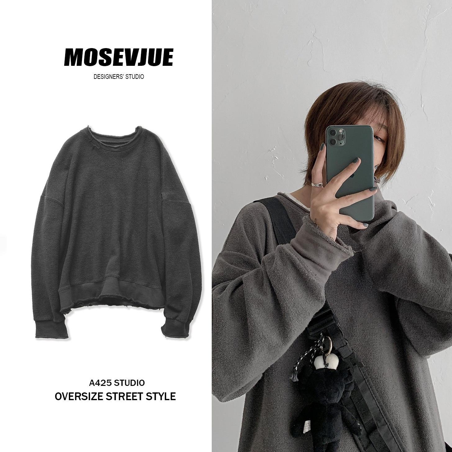 2019 Solid Hoodie Streetwear Harajuku  Hip Hop Oversize Sweatshirts Men 1