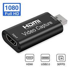 4K Video USB 2.0/3.0 przechwytywanie karty HDMI Video Grabber Record Box dla PS4 karta przechwytująca 1080P rejestrator HD gra/wideo przekaz na żywo