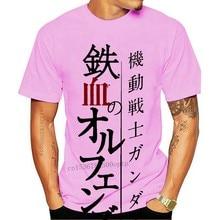 Men tshirt Gundam Tekketsu Iron Blooded Orphans Unisex T Shirt women T-Shirt tees top