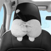 4 Colors Cute Animal Car and HomeTissue Holder Back Hanging Tissue Box Covers Napkin Paper Towel Box Holder Case Paper Towel creative ass towel sets bathroom car room napkin holder paper towel holder kleenex box