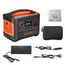 XMUND Tragbare Power Station 500W 220V Solar Generator Power Versorgung 153600mAh Power Bank LED Taschenlampe Auto Hause camping Outdoor