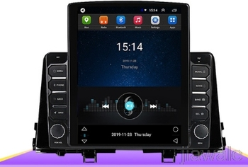 9.7 octa core tesla style vertical screen Android 10 Car GPS radio Navigation for Kia PICANTO Morning 2016-2019 image