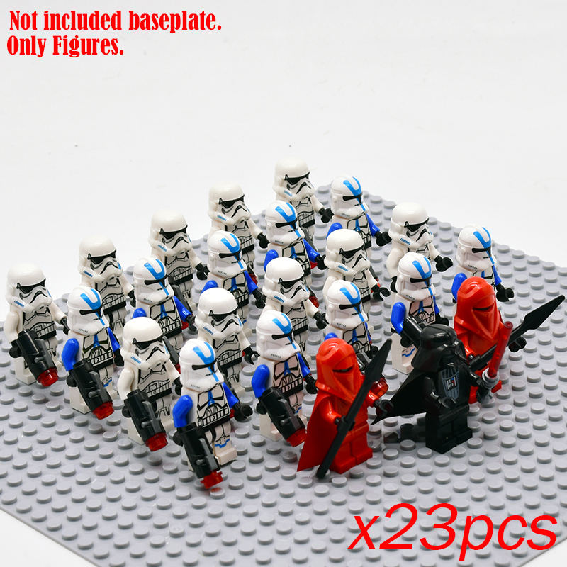 General Robot Star Wars Figures Stormtroopers  Snow Troopers Building Blocks Bricks Battle Droid Legoinglys Toys For Children
