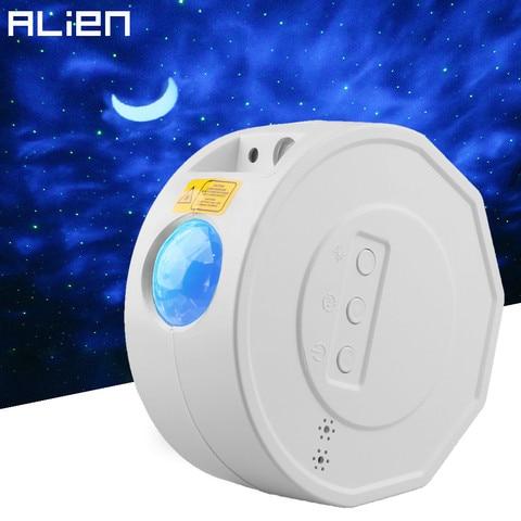 alienigena recarga led colorido ceu estrelado projetor estrela noite luz laser onda oceano ferias criancas