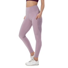 Seamless gym tights women's push up sports running fitness tights sports high waist yoga pants running tights