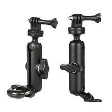 Motorcycle Bike Camera Holder Handlebar Mirror Mount Bracket for Go-Pro/So-ny J2HC