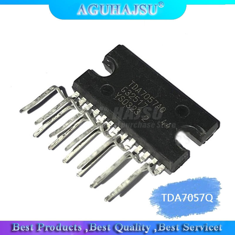 1pcs/lot TDA7057Q TDA7057AQ Two-channel Audio Amplifier ZIP