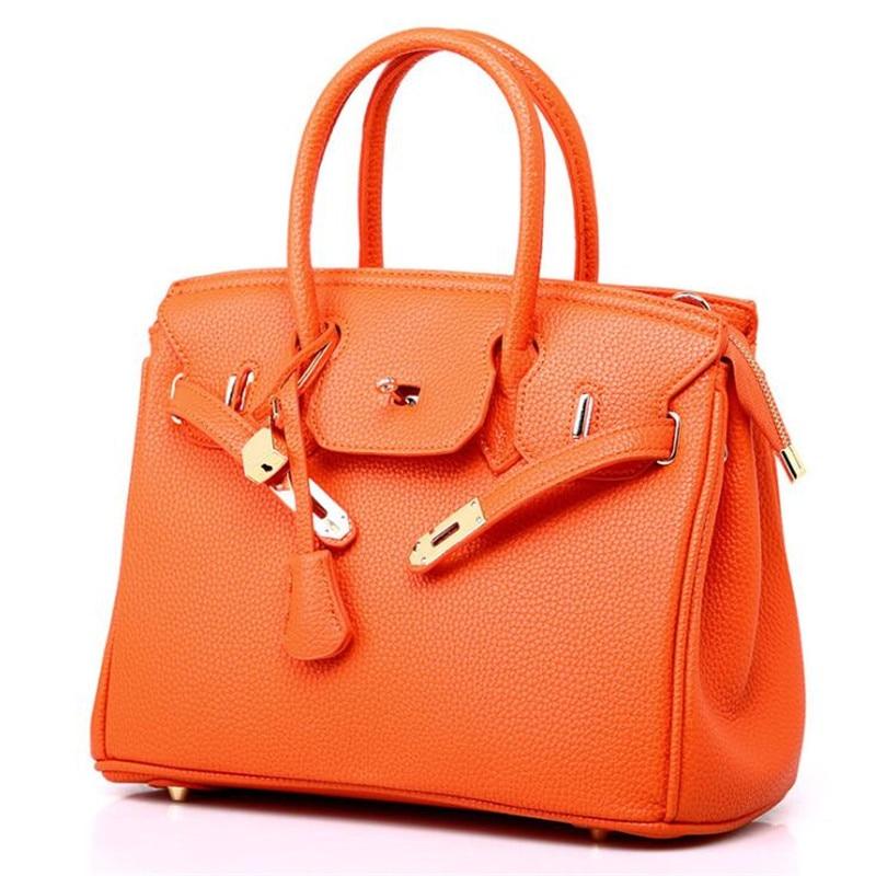 Women Large-capacity Handbag Shoulder Bags 2019 New Fashion Casual PU Litchi Pattern Platinum Bag Zipper Diagonal Crossbody Bag