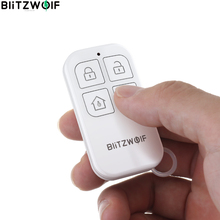 BlitzWolf BW-RF01 433Mhz Wireless Remote Control Real-time SOS Function For BW-IS6 BW-IS20 BW-IS21 BW-IS22 Home Security Hub