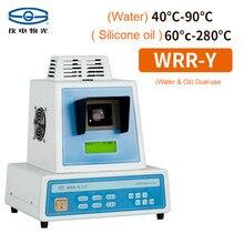Медицинский измеритель температуры плавления WRR-Y прибор для измерения температуры плавления лекарств светодиодный дисплей(вода и масло) визуальный детектор температуры плавления двойного назначения