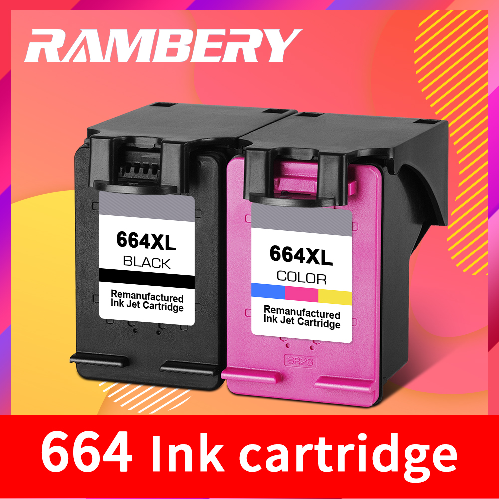 664 Ink Cartridge Replacement For HP 664 XL Cartridge 664XL For HP Deskjet  1115 2135 3635 2138 3636 3638 4535 4536 4538 4675