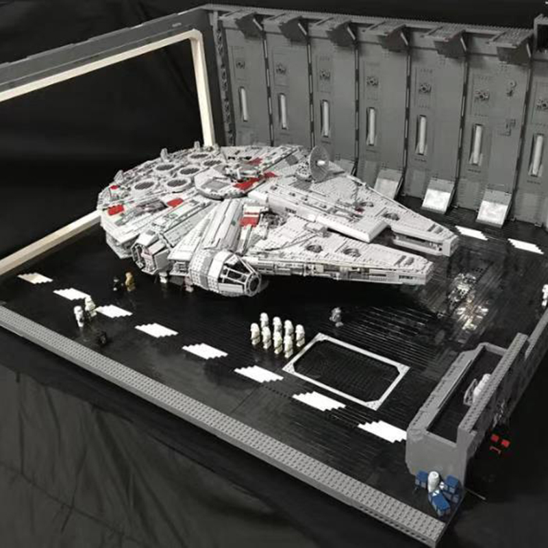 05132-75192-moc-star-plan-escape-from-docking-bay-327-hanger-scale-ucs-falcon-fit-font-b-starwars-b-font-technic-figures