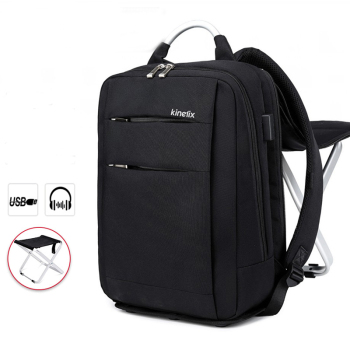 Foldable Business Backpack with Chair Travel Daypacks Male Leisure Backpack Mochila Laptop Backpack Computer Male Bagpack 2017 backpack male