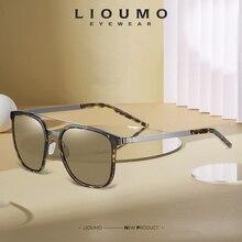 LIOUMO Square Sunglasses Men 2020 Fashion Design Women Sun Glasses Polarized Driving Eyewear Anti-Glare gafas de sol hombre