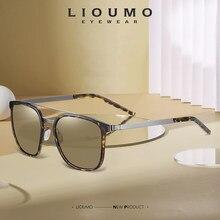 LIOUMO Piazza Occhiali Da Sole Degli Uomini 2020 Donne di Disegno di Modo Occhiali Da Sole Polarizzati di Guida Occhiali Anti-Abbagliamento gafas de sol hombre