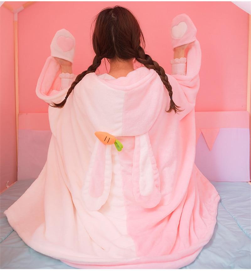 Talla /única gris LOCOMO Mujeres Chica El/ástica Pelo De Conejo Diadema Sombrero Calentador De Cuello Bufanda FFH078WHT