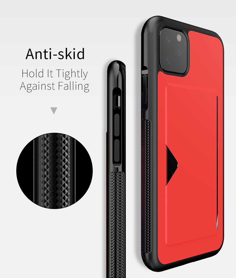Chirm Card Pocket Case for iPhone 11/11 Pro/11 Pro Max 7