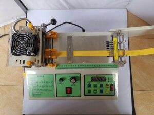 Image 5 - Machine de découpe pour ceintures en tissu chaud et froid, ordinateur, machine pour sangles adhésives magiques, fermeture éclair, découpe automatique, ceinture élastique, 988