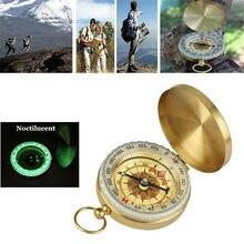 Высокое качество Классический Медный компас выживания на открытом