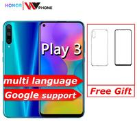 Honor play 3 Smartphone 4000mAh Battery Kirin 710F 48MP camera Android 9.0 6.39 IPS 1560X720