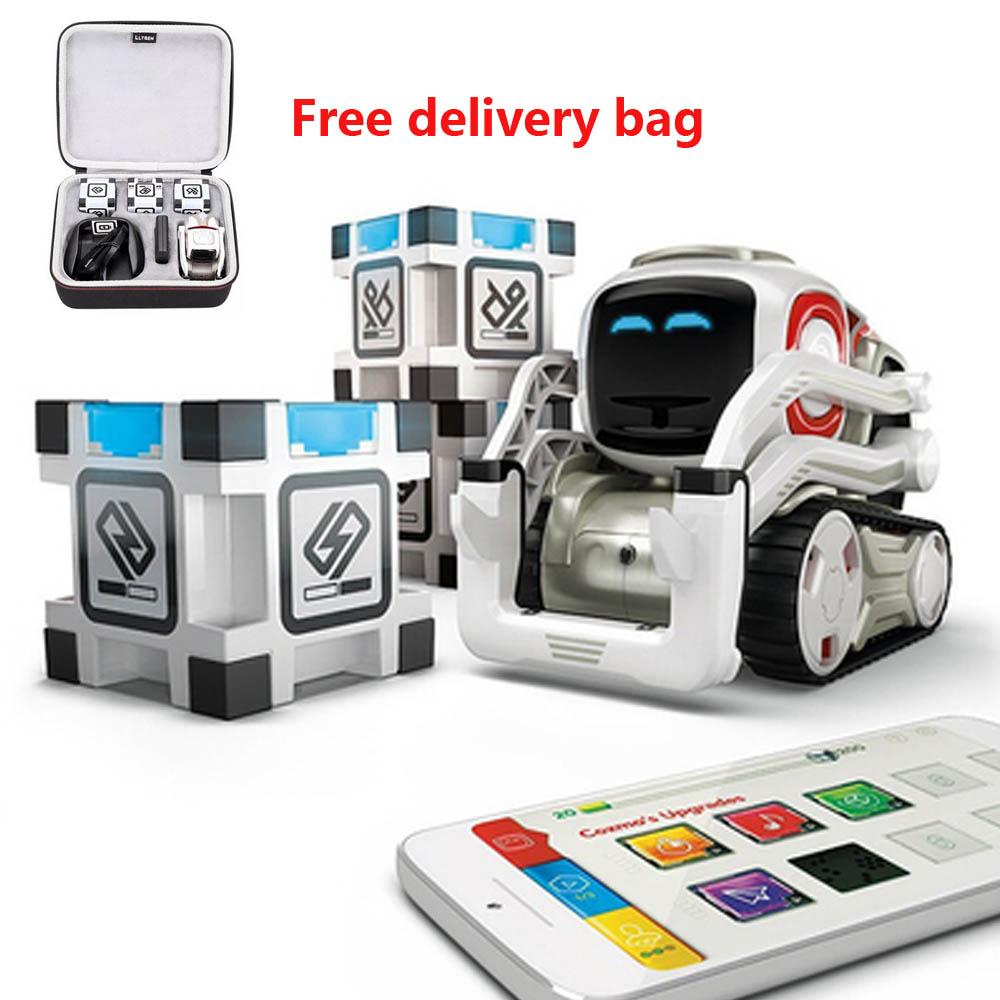 New!High Tech Toys Robot Cozmo Artificial Intelligence Voice Family Interaction Early Education Children Smart Toys