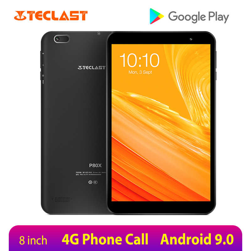 Teclast P80X 8 Inch Tablet Android 9.0 4G Phablet SC9863A Octa Core 1280*800 Ips 2 Gb Ram 32 Gb Rom Tablet Pc Dual Camera Gps