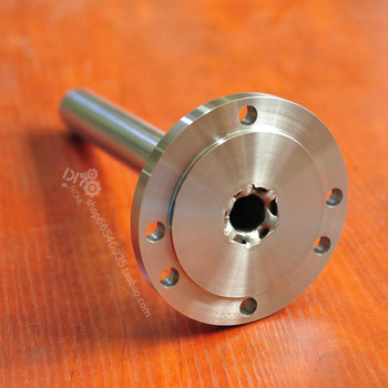 Bead lathe Flange spindle k11, k12, k72 homemade lathe 80 chuck 100 chuck 16mm-19mm through hole shaft core hardened hard