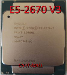 Pulled E5-2670 V3 Server cpu 2.3G 30M 12Core 24 thread LGA2011-3 Processor