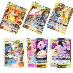 New arrival Best Selling pokemones Cards Tag Team GX MEGA Game Cards Battle Carte 25 50 324pcs Trading Cards Game Kids Toys