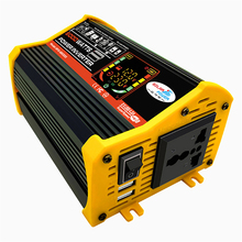 6000W Auto Power Inverter LCD Display Transformator Modifizierte Sinus Welle 12V Zu 110V/220V Zwei USB Ports Inverter Für Auto Konverter