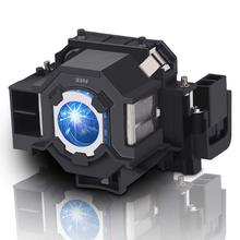 цена на replacement ELPLP41 Projector Lamp V13H010L41 bulb for EPSON S5 S6 S6+S52 S62 X5 X6 X52 X62 EX30 EX50 TW420 W6 77C EMP-H283