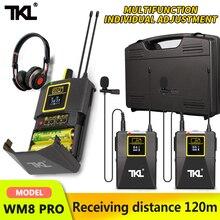 TKL PRO UHF Wireless Lavalier Lapel Microphone with Bodypack Transmitter SLR/phone wireless mic system Youtube Video Recording