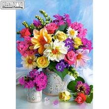 Diamond Painting Flower Arrangement Large & Small 30x40cm