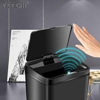 12L Smart Abfall Bins Automatische Induktion Müll Mülleimer Batterie Typ Intelligente Große Kapazität Hause Reinigung Zubehör