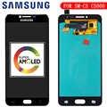 חדש 5.2 ''סופר אדו AMOLED LCD תצוגה עבור SAMSUNG Galaxy C5 LCD תצוגת C5000 LCD מסך מגע Digitizer החלפה חלקי