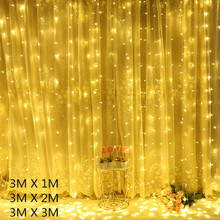 Garland Curtain Snowflake Christmas Garland Led Fairy Lights Led String Lights Christmas Lights Indoor Christmas Decoration 2021