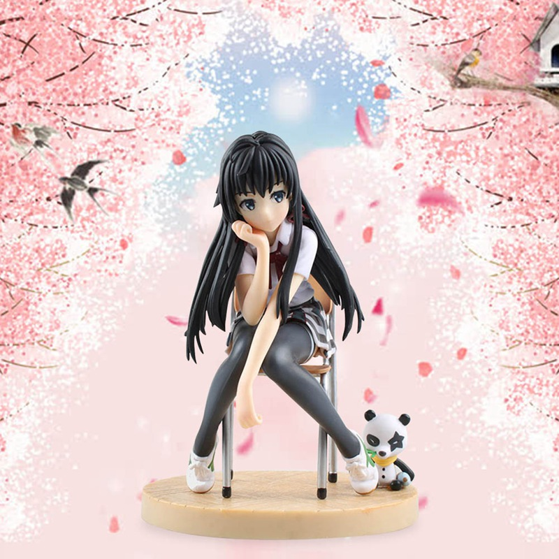 Anime Action-figur Spielzeug Modell Meiner Jugend Liebe Story Figuren Anime PVC Sammlung Spielzeug Meine Teen Romantische Komödie