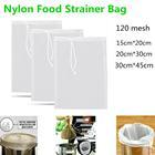 Malla de Nylon bolsa de filtr
