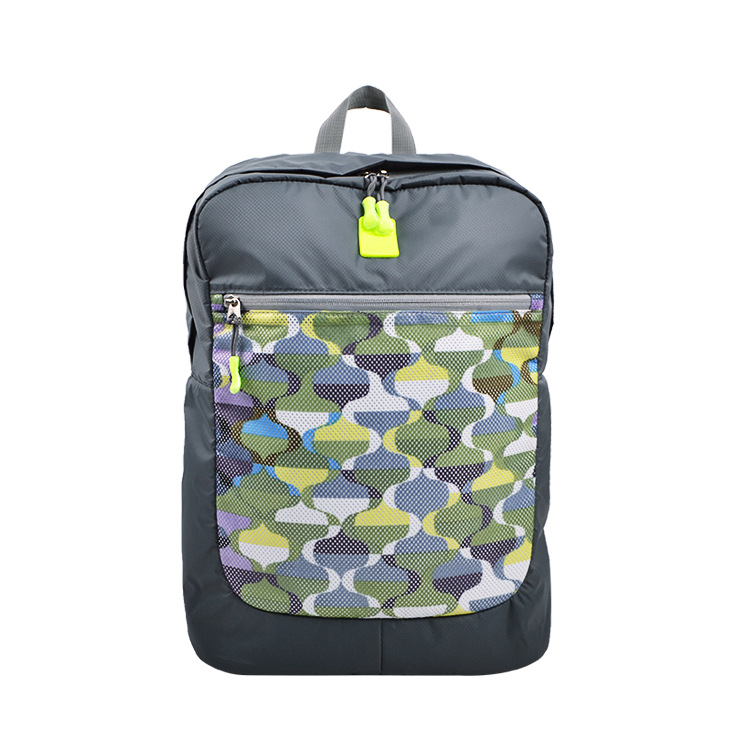 Customizable Camouflage Mesh Sports Diaper Bag Amazon Hot Sales Contrast Color Shoulder Multi-functional Backpack Customizable