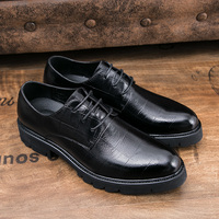 Male Formal Shoes Black Brown Business Sneakers Men Dress Shoes Classic Male Boss Shoes Formal Dress Oxfords Fashion Sneakers