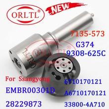 ORLTL Common Railชุดซ่อม7135 573หัวฉีดG374วาล์ว9308 625C 28525582สำหรับหัวฉีดA6710170121 EMBR00301D 33800 4A710