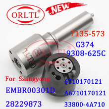 ORLTL Common Rail ชุดหัวฉีด L374PBD การใช้หัวฉีด H374หัวฉีด G374ซ่อม7135 573สำหรับ EMBR00301D/6710170121/a6710170121