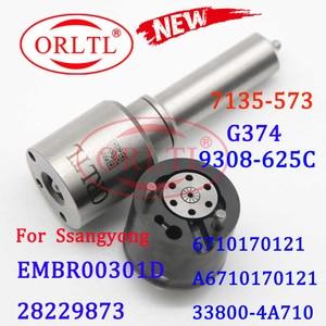 Image 1 - ORLTL Common Rail ชุดหัวฉีด L374PBD การใช้หัวฉีด H374หัวฉีด G374ซ่อม7135 573สำหรับ EMBR00301D/6710170121/a6710170121