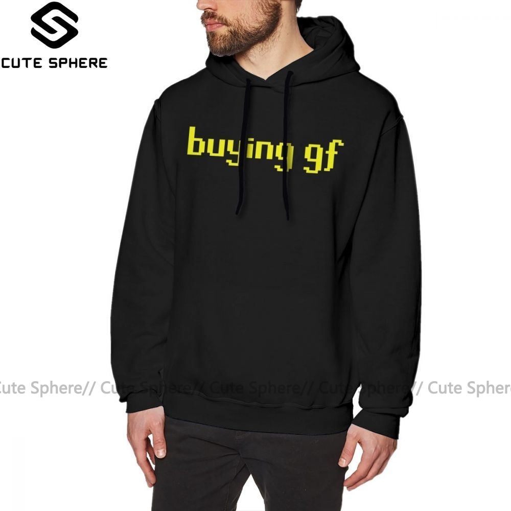 Runescape Hoodie The Buying Gf Tee Hoodies Grey Long Pullover Hoodie Male Streetwear Cotton Autumn Over Size Stylish Hoodies