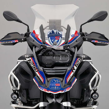 R1250 R 1250 GS GSA Motorcycle Stickers For BMW R1250GS Tank Pad Side Panel Protector Fender Front Nose Fairing Beak Adventure image