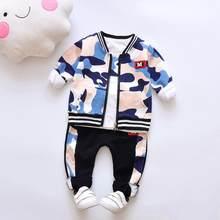 Primavera outono da criança do bebê menino roupas terno crianças meninos conjuntos de roupas de algodão criança meninos conjuntos de roupas 3pcs casaco + camisa + calças