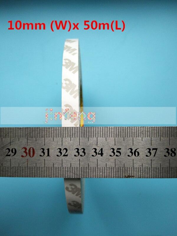 14mm (W) x 50 m (L) azul Alta Temperatura Resistente Dupla Face Adesiva Etiqueta parágrafo TV backlight LED Tiras de Fita de Volta x