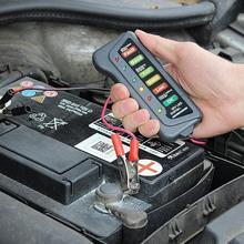 12V Auto 6 LED Display 12V Car Motorcycle Battery Load Tester Digital Analyzer Alternator Charge Starting Motor Car Accessories desktop cpu 939 socket tester cpu socket analyzer dummy load fake load with led